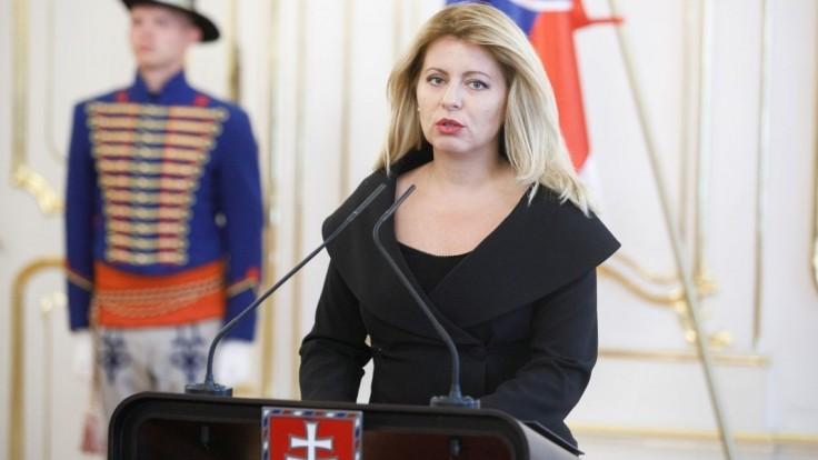 Čaputová: Podporujem výzvu krajinám EÚ, aby stopli predaj zbraní Turecku