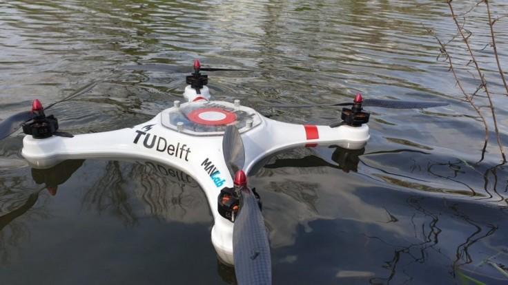 Obojživelný dron Pelican zabezpečí rýchle monitorovanie kvality vody