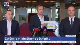 TB predsedu parlamentu A. Danka o zvýšení minimálneho dôchodku