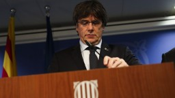 Bývalý katalánsky premiér Puigdemont sa sám prihlásil na polícii