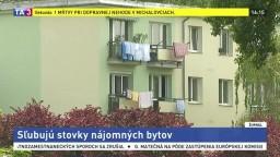 Bratislava rieši situáciu s bývaním, sľubuje stovky nájomných bytov