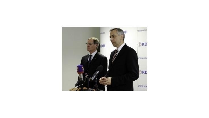 KDH: Opatrenia Smeru-SD oslabia prosperitu Slovenska