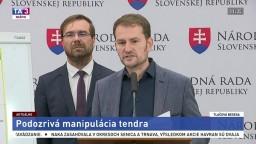 TB I. Matoviča a M. Krajčího o podozrivej manipulácii tendra