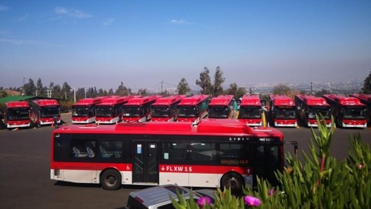Čile spúšťa prvú linku s elektrickými autobusmi v Latinskej Amerike