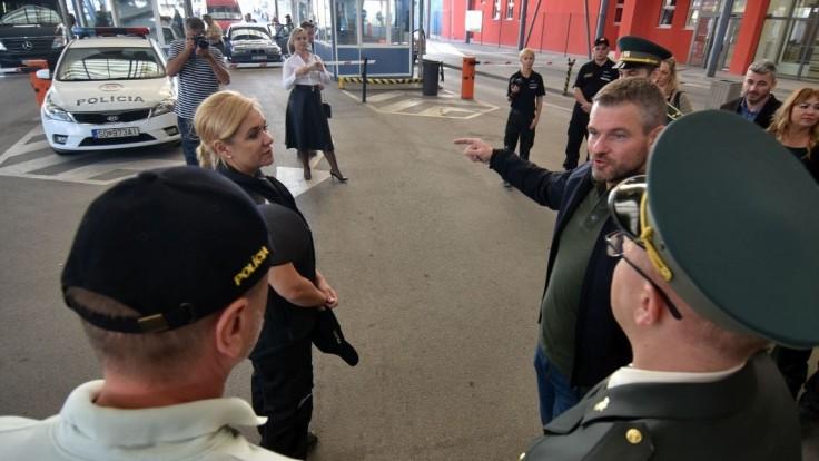 Premiér kontroloval hranicu s Ukrajinou: Takto chránia máloktorú