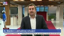 TB predsedu parlamentu A. Danka o aktuálnej situácii