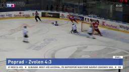 Zvolenčania v Poprade potvrdil formu, Slovan hostil Liptákov