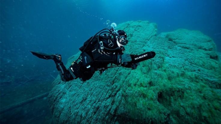 Podvodný skúter Scubajet Pro umožní hlbšie a dlhšie potápanie