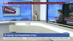 HOSŤ V ŠTÚDIU: Analytik J. Rosa o vývoji na finančnom trhu