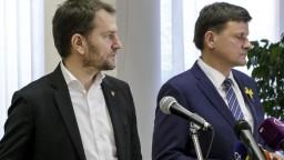Matovič ponúkol KDH polovicu kandidátky, Hlina odmietol