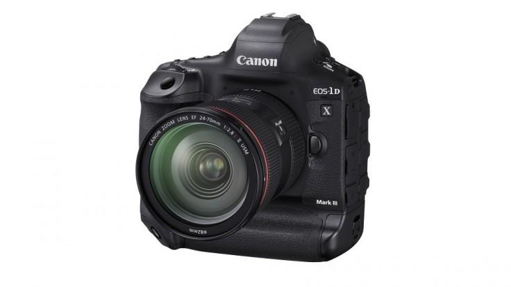 Canon konečne odhaľuje novú vlajkovú loď EOS-1D X Mark III