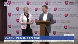 TB I. Matoviča a A. Záborskej o ponuke pre stranu KDH