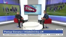 ŠTÚDIO TA3: V. Gála o postupe Slovana v mládežníckej LM