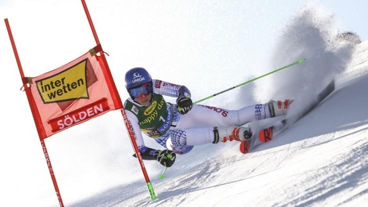 Vlhová skončila po prvom kole slalomu siedma, Shiffrinová vedie
