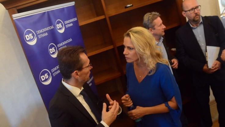 Demokrati rokovali už s novými členmi, zvolili si podpredsedov
