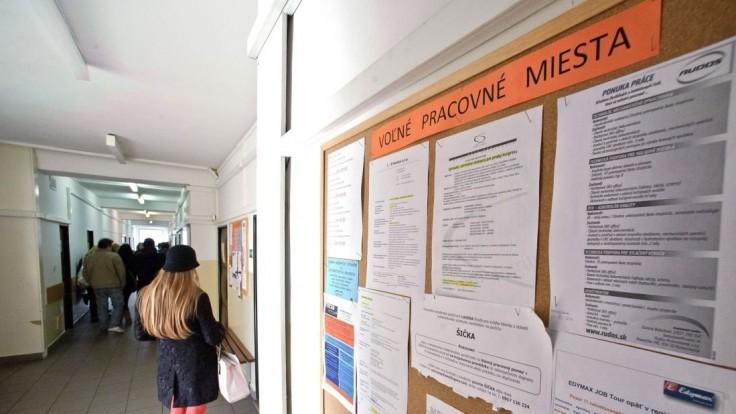 Zverejnili údaje o nezamestnanosti, najlepšie je na tom okres Nitra