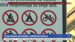 Rakúšania uzavreli Necpalskú dolinu pre turistov i cyklistov