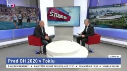 ŠTÚDIO TA3: R. Buček o prípravách na LOH 2020 v Tokiu