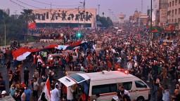 Masaker v Iraku. Na demonštrantov zaútočili maskované jednotky