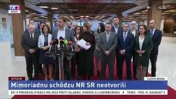 TB OĽANO a SaS o neodvolaní podpredsedu NR SR M. Glváča