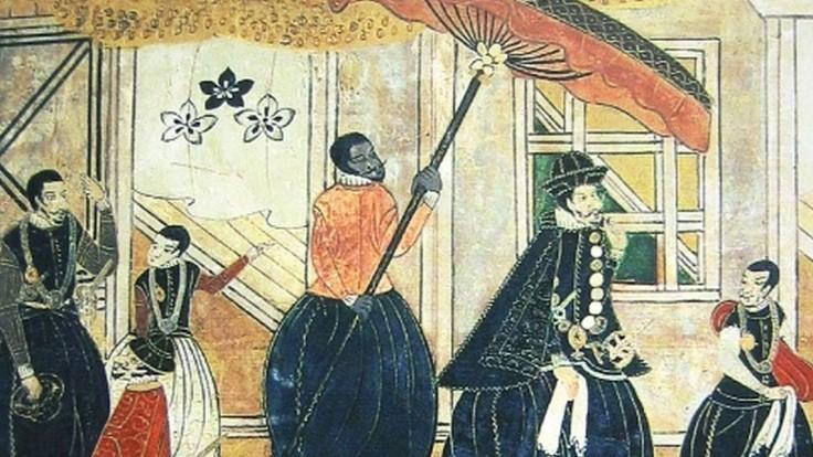 Bol senzáciou. Prvým samurajom z cudziny sa stal vysoký Afričan