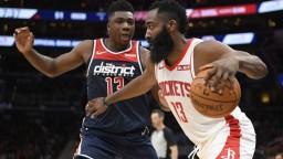 NBA: Harden rozhodol o triumfe Houstonu pár sekúnd pred koncom