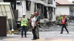 Zemetrasenie uväznilo ľudí v budovách, zrútil sa aj hotel