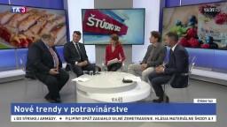 ŠTÚDIO TA3: Účastníci gastronomického veľtrhu o trendoch v potravinárstve