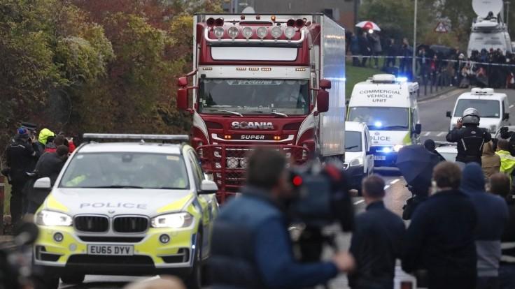 Mŕtvi migranti v kamióne neboli Číňania, polícia má nové správy
