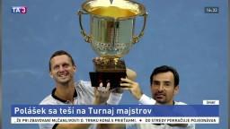 Poláškovi reštart kariéry vyšiel, na Turnaj majstrov sa teší