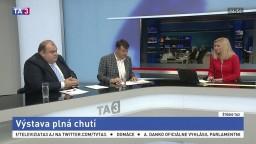 ŠTÚDIO TA3: B. Borsuk a M. Lapšanský o výstave Gastra & Kulinária