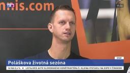 Tenista F. Polášek o svojej životnej sezóne