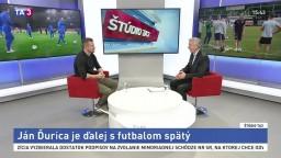ŠTÚDIO TA3: Futbalista J. Ďurica o futbale a šanciach Slovana