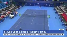 Slovak Open bez Slovákov v singli, v debli ešte môžeme triumfovať