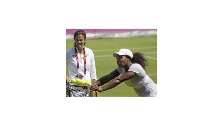 Serena Williamsová postúpila hladko do 2. kola dvojhry