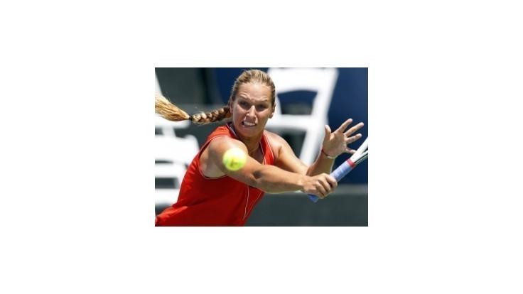Cibulková prehrala v 1. kole dvojhry s Pironkovovou