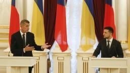 Český premiér sa stretol so Zelenským, odsúdil anexiu Krymu