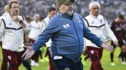 Klub Gimnasia La Plata bude bez velikána Maradonu, odchádza