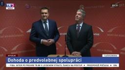 TB B. Bugára a V. Novotného o dohode a predvolebnej spolupráci
