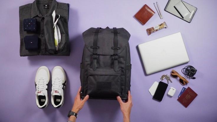 Nový batoh Smart-Pack chce byť inteligentnejší ako bežné batohy