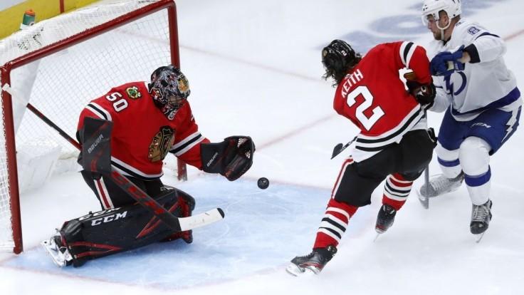 NHL: Chára a Sekera asistovali, Černák rozdával bodyčeky