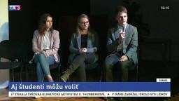 Zaujímajte sa o politiku, vyzývajú organizátori Študentských volieb