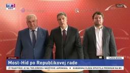 TB Most-Híd po Republikovej rade o kandidátke do volieb