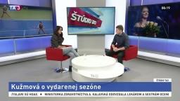 ŠTÚDIO TA3: Tenistka V. Kužmová o vydarenej sezóne