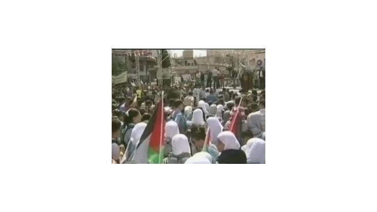Tisíce ľudí demonštrovali za uznanie palestínskeho štátu
