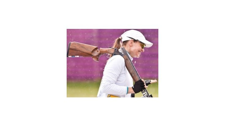 Barteková získala v skeete bronz, zlato pre Rhodeovú