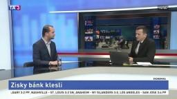HOSŤ V ŠTÚDIU: Analytik J. Porázik o tom, že zisky bánk klesli