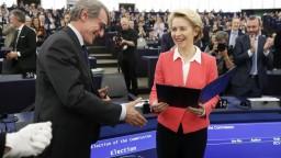 Európsky parlament rozhodol, Leyenovej komisia získala dôveru