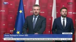 TB P. Pellegriniho a M. Valla po rokovaní vlády s bratislavským magistrátom