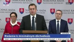 TB A. Danka, T. Bernaťáka a M. Kuciaňovej o riešeniach k dôchodkom